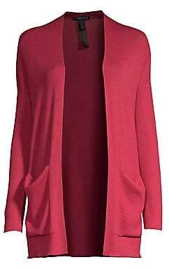 Eileen Fisher Women's Open Front Cardigan Sweater