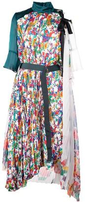 Sacai pleated day dress