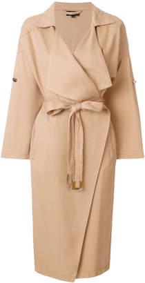 Elisabetta Franchi oversized trench coat