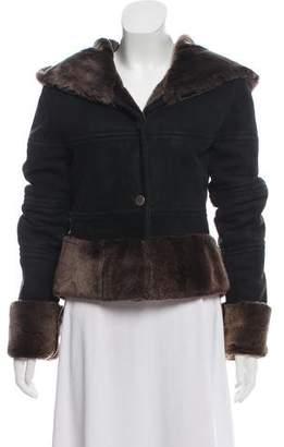 Jacket Hooded Suede Jacket