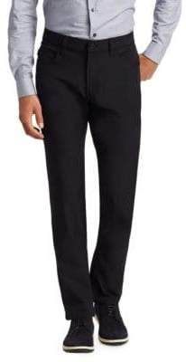 Armani Collezioni Techno Stretch Slim-Fit Trousers