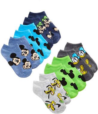 Disney's Mickey Mouse 6-Pk. Graphic-Print Socks, Little Boys & Big Boys