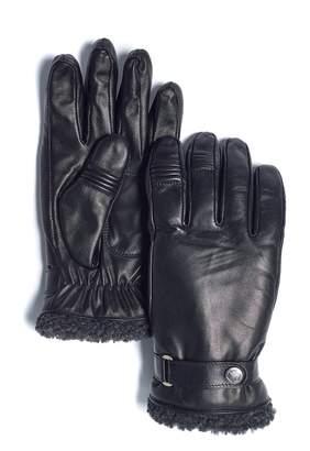 Marron Finlay Faux Shearling Gloves