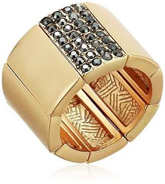 T Tahari Women's Stretch Cigar Band Ring