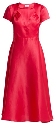 Gioia Bini Tina Silk Dress - Womens - Pink