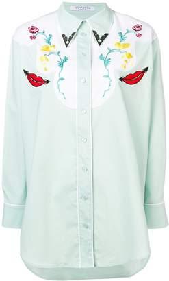 VIVETTA embroidered western shirt