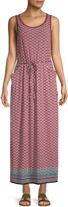 Max Studio Printed Maxi Dress