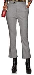 R 13 Women's Kick Wool-Blend Flannel Trousers-Gray