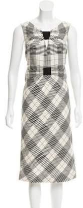 Zac Posen Wool & Silk-Blend Dress