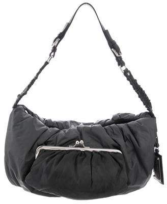 cd16ad9d3c45 Pre-Owned at TheRealReal · Dolce   Gabbana Miss Curly Nylon Shoulder Bag