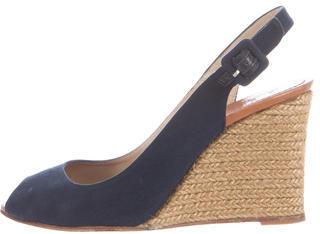 Christian Louboutin Christian Louboutin Espadrille Wedge Sandals