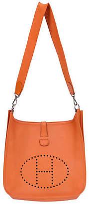 One Kings Lane Vintage HermAs Orange Evelyne Bag - Vintage Lux