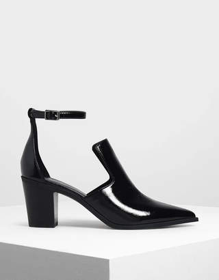 Charles & Keith Ankle Strap Booties