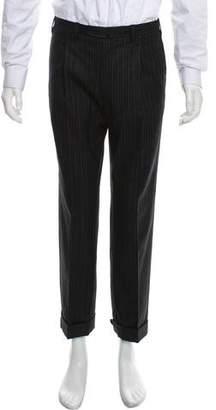 Cesare Attolini Woven Striped Pants