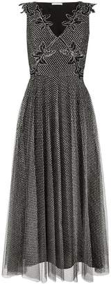 Christopher Kane metallic tulle pleated dress