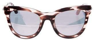 Le Specs Le Debutante Cat-Eye Sunglasses