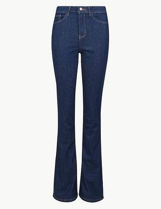 Marks and Spencer High Waist Skinny Flare Jeans