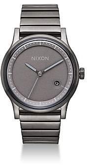 Nixon Men's Station Stainless Steel Bracelet Watch