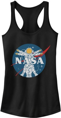 "Licensed Character ""NASA Astronaut"" Racerback Tank Top"