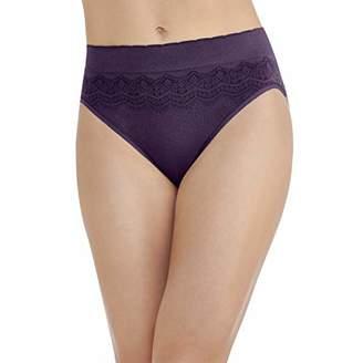 Vanity Fair Women's No Pinch-No Show Seamless Hi Cut Panty 13171