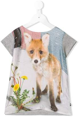 Molo urban fox printed T-shirt
