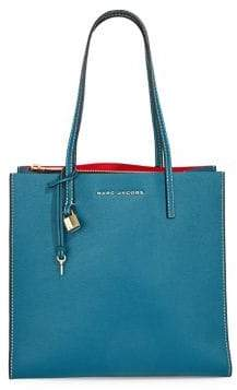 Marc Jacobs Grind Leather Tote Bag