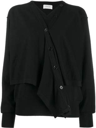 Lemaire layered button up cardigan