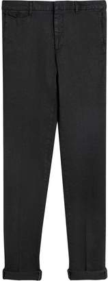 Burberry Linen Cotton Tailored Trousers