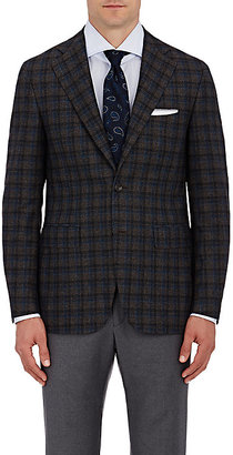 Canali CANALI MEN'S PLAID TWO-BUTTON SPORTCOAT $1,595 thestylecure.com