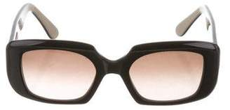 Marni Gradient Square Sunglasses