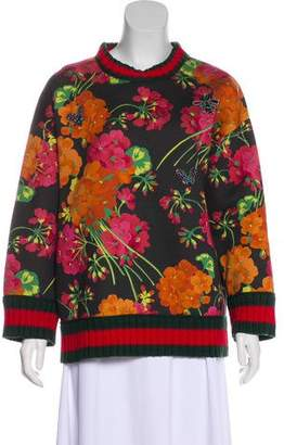 Gucci 2016 Blooms Print Sweatshirt