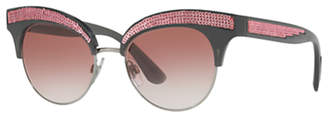 Dolce & Gabbana DG6109 Cat's Eye Sunglasses