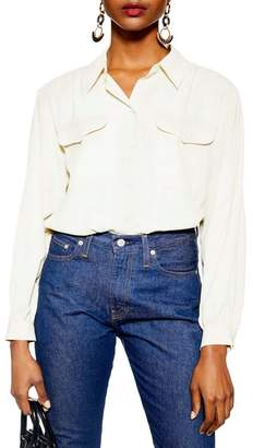 Topshop Smart Pocket Shirt