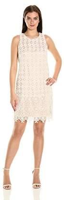 Eliza J Women's Sleeveless Lace Shift