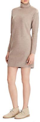 Polo Ralph Lauren Turtleneck Merino Wool Sweater Dress