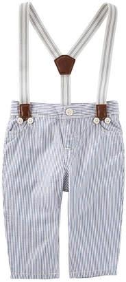 Osh Kosh Oshkosh Suspender Pull-On Pants Boys