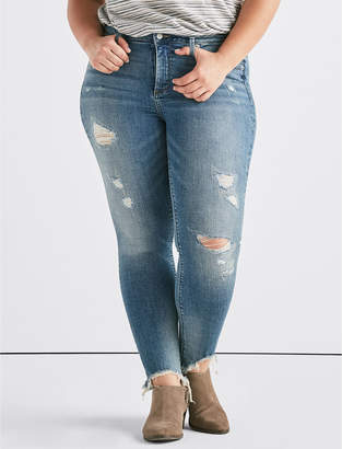 Lucky Brand Plus Lolita Mid Rise Skinny Jean