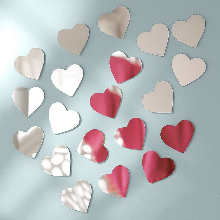 Mini Heart Mirrors