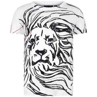 Antony Morato Antony MoratoBoys White Lion Print Top