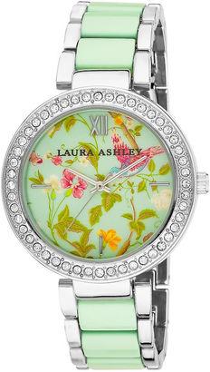 Laura Ashley Ladies Blue Band Summer Duck Egg Dial Watch La31007BL $395 thestylecure.com