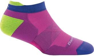 Darn Tough Vertex Stripe No Show Tab Ultra-Light Cushion Sock - Women's