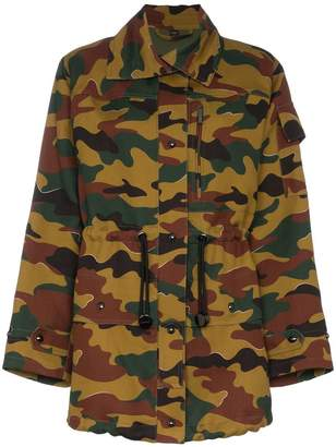 Burberry camouflage long sleeve jacket