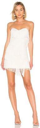 NBD Leanne Fringe Mini Dress