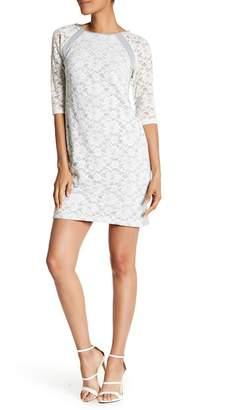 Rabbit Rabbit Rabbit 3/4 Length Sleeve Pullover Dress