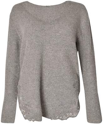 Ermanno Scervino Ribbed Knit Jumper