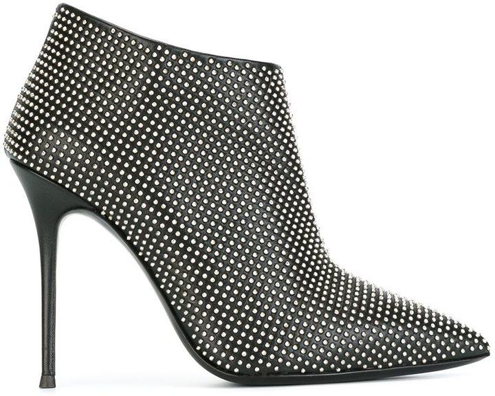 Giuseppe Zanotti Design pointed toe ankle boots