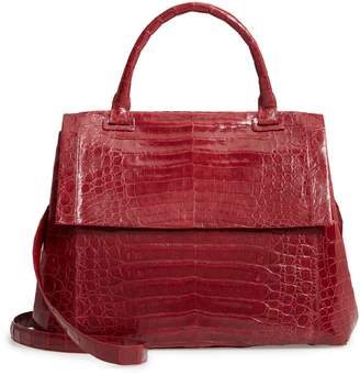 Nancy Gonzalez Medium Sophie Genuine Crocodile Top Handle Bag