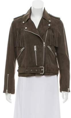 AllSaints Suede Fringe Jacket w/ Tags