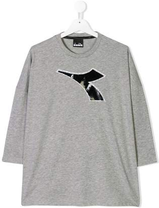 Diadora Junior printed logo T-shirt