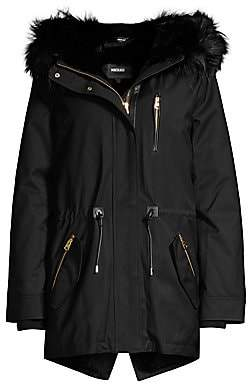 Mackage Women's Chara Fur-Lined Hooded Parka